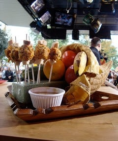 thanksgiving dinner on a stick