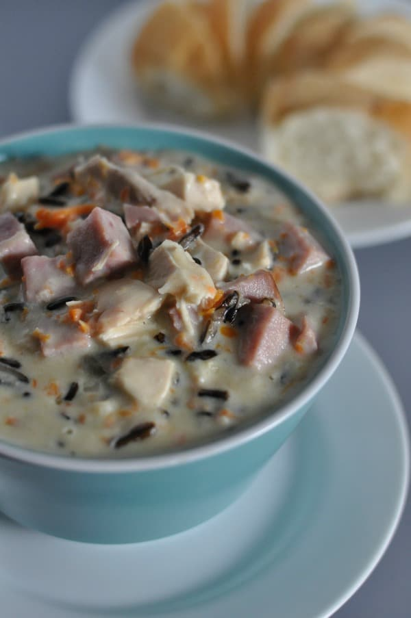 ... rice soup is a minnesota classic filled with ham chicken and wild rice