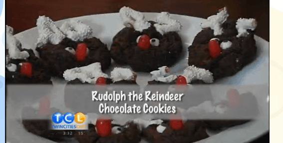 Rudolph the Reindeer Cookies