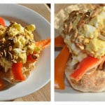 Creative Cold Lunches: Hummus Egg Salad Sandwiches