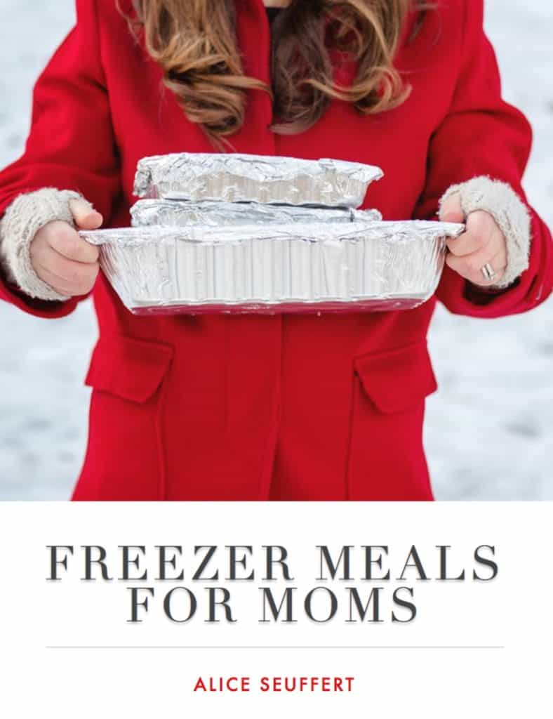 Freezer Meals for Moms is Alice Seuffert's Easy to Use Guide to Freezer Meals. Freezer Meals for Moms is a collection of recipes and freezer tips for moms to help with family meal planning. The recipes are family favorites, loved by both kids and adults. Alice's creative comfort food recipes are easy to assemble and can be eaten that day or frozen and stored for a later date.