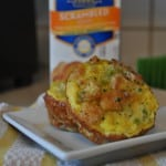 Egg Muffins with Crystal Farms Scrambled Eggs