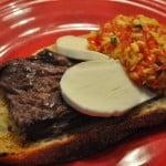 Steak Toppings: Lunch