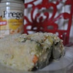 Zucchini Lasagna with Prego Artisan Three Cheese