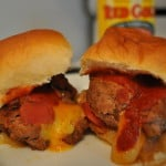 Mini Bacon Cheeseburgers