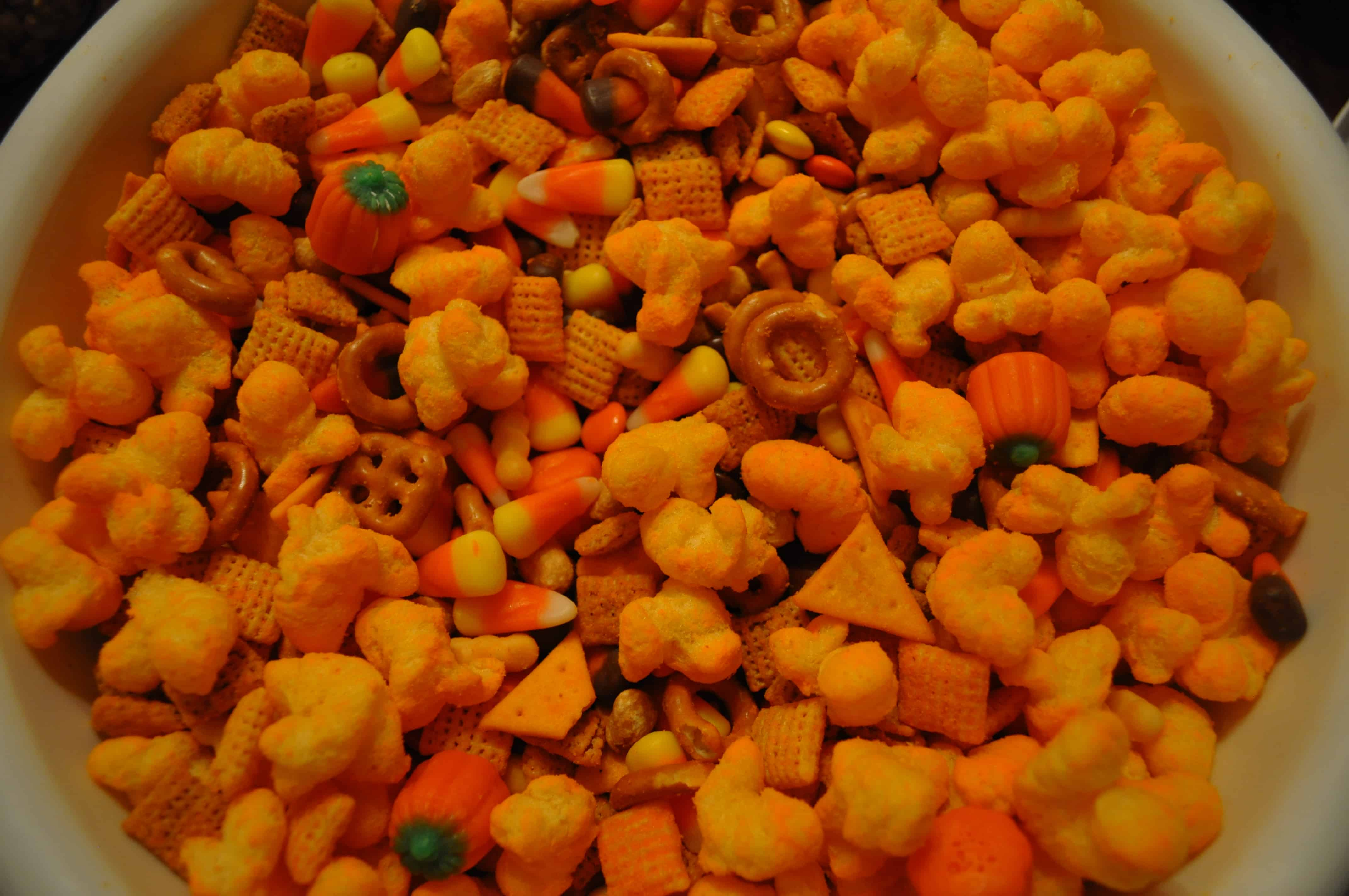 Halloween Trail Mix - Dining with Alice