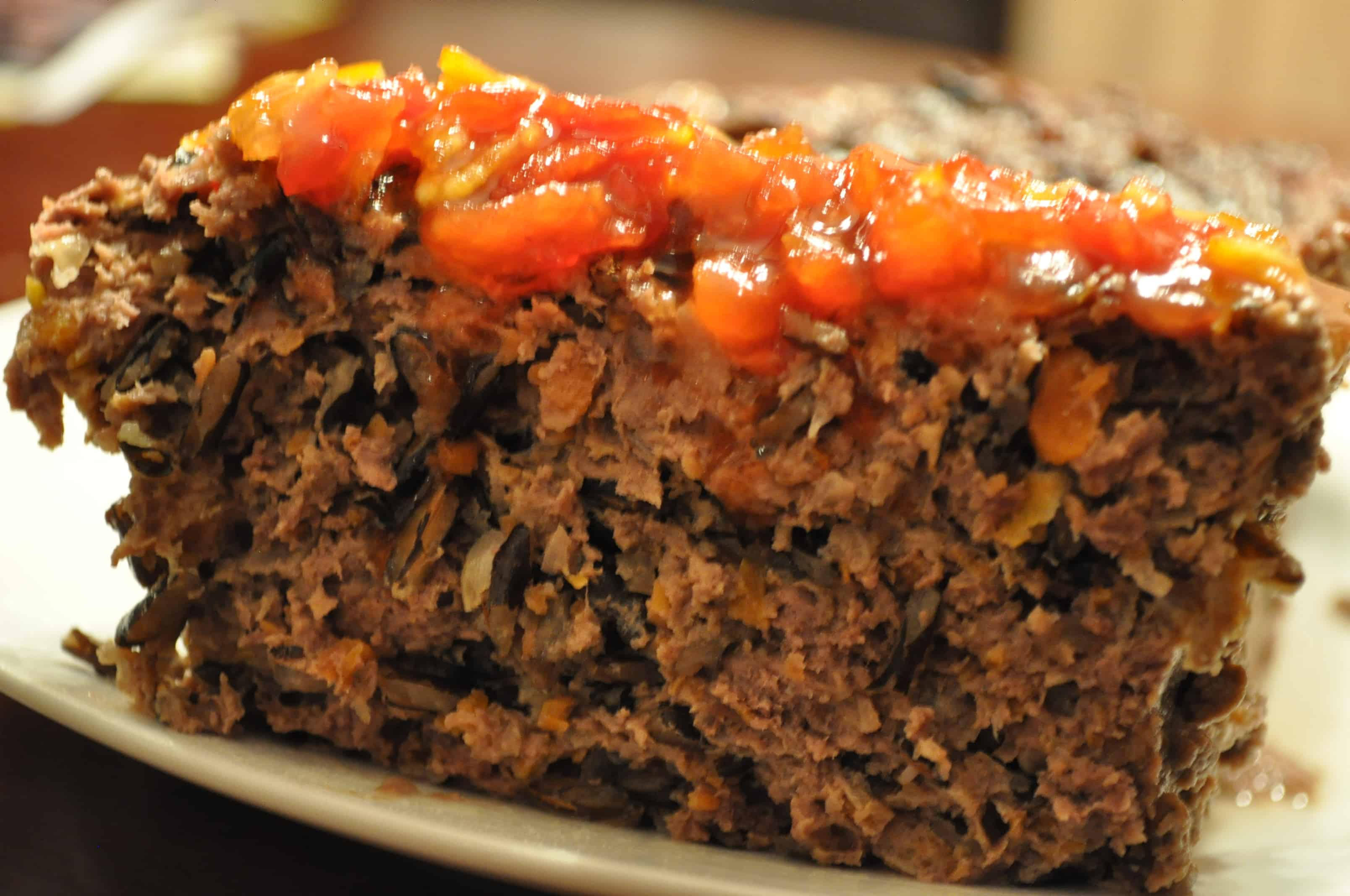 ground venison meatloaf