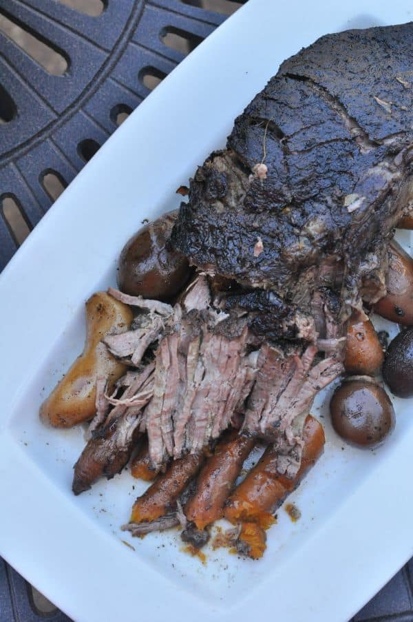 Chocolate Coffee Pot Roast