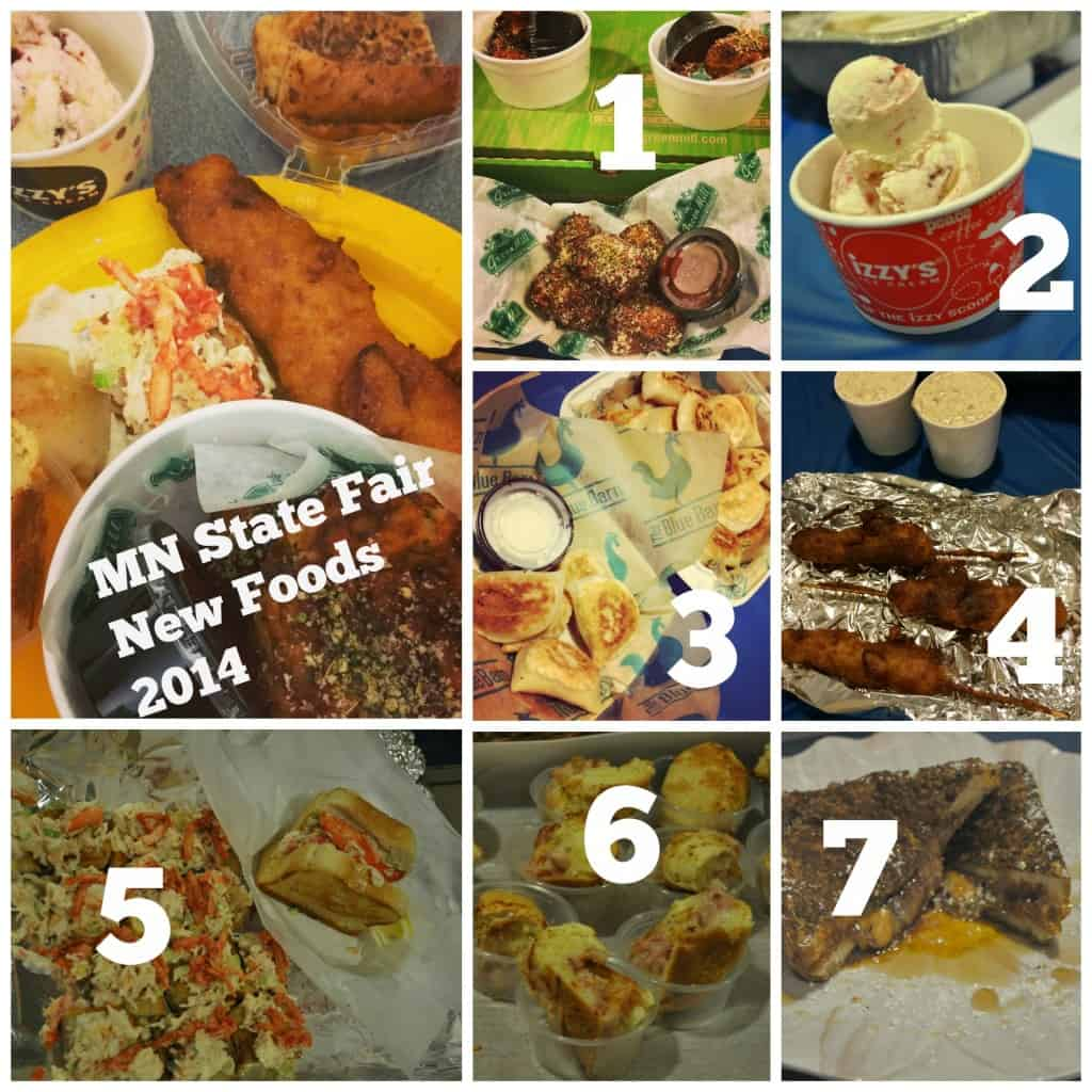 2014 New State Fair Foods