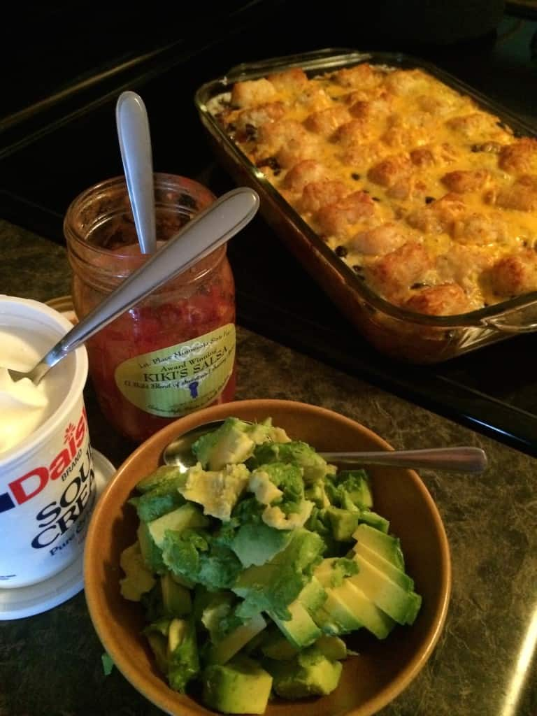 Southwestern Tater Tot Egg Bake Dining With Alice