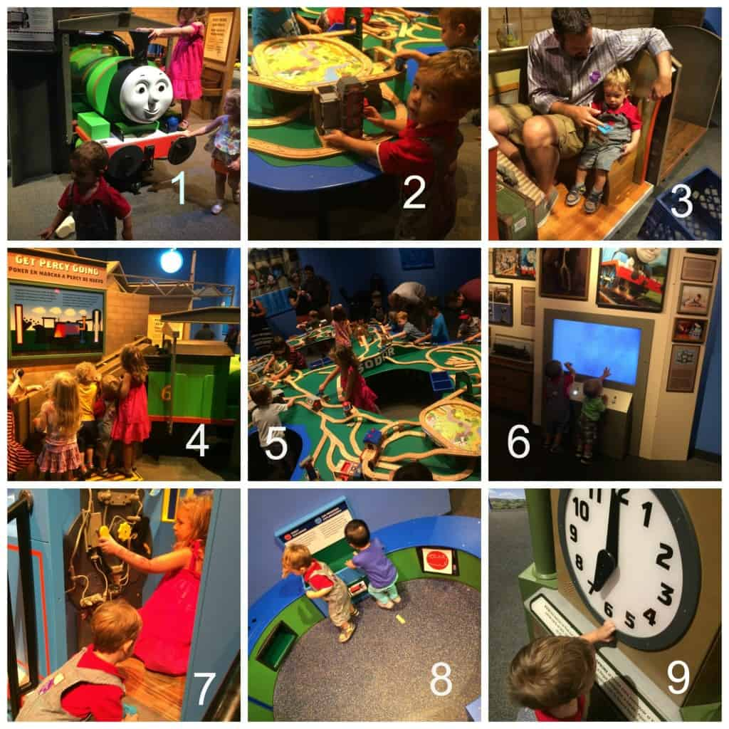 Thomas Exhibit Activities with Numbers
