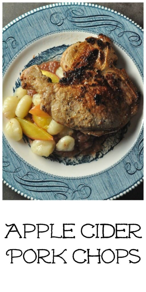 Easy Apple Cider Brined Pork Chops
