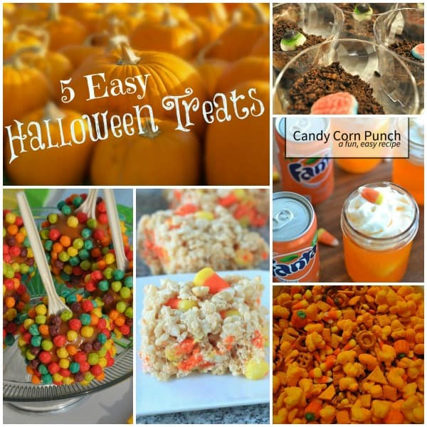 5 Easy Halloween Treats - Dining with Alice