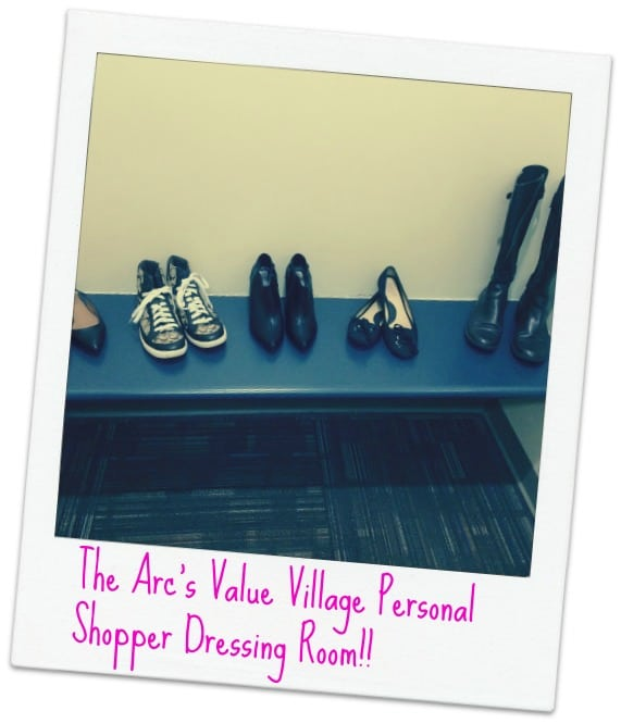 Arc's Personal Shopper Service Dressing Room