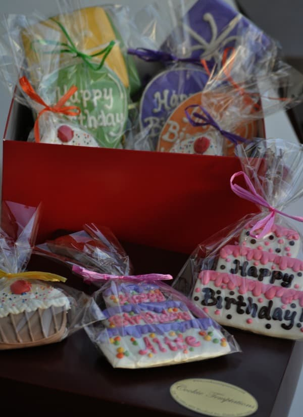 Cookie Temptations Birthday Cookies