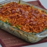 Cheesy Bacon Green Bean Casserole