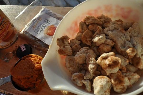 Pumpkin Monkey Bread Biscuits