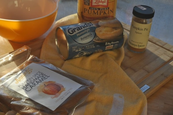 Pumpkin Monkey Bread Ingredients