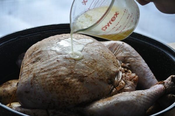 Turducken with Butter