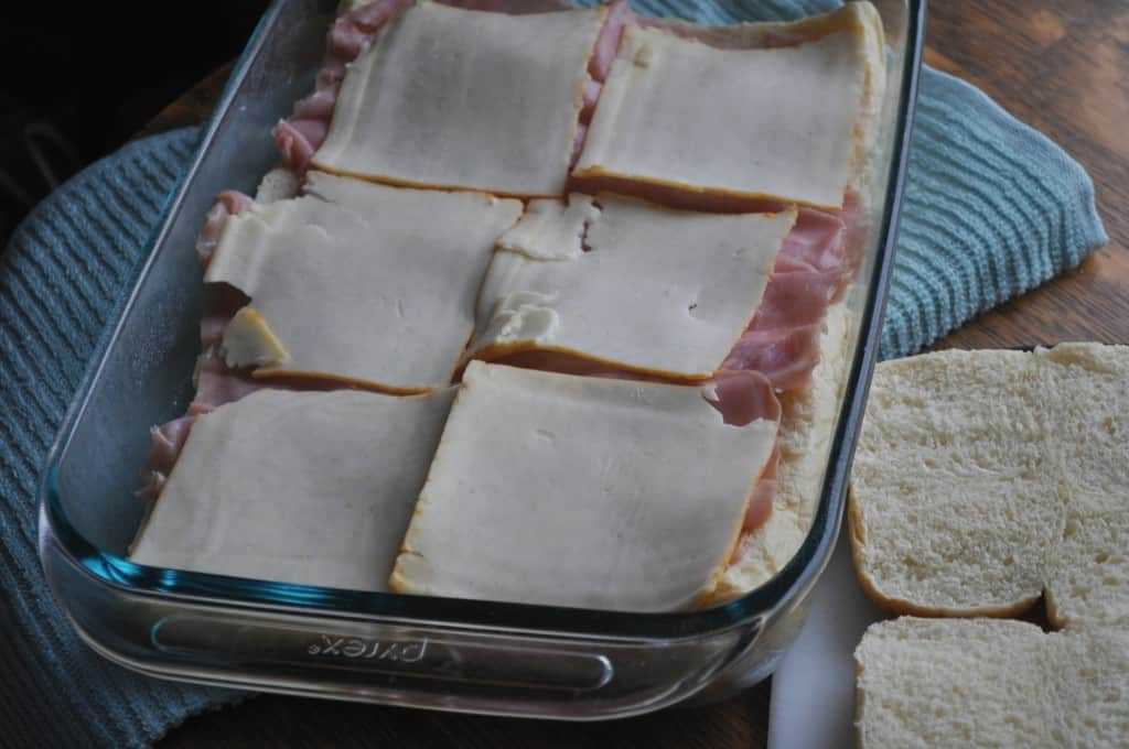 Baked-Ham-Sandwiches-Cheese