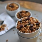 Gluten Free Cherry Chocolate Granola