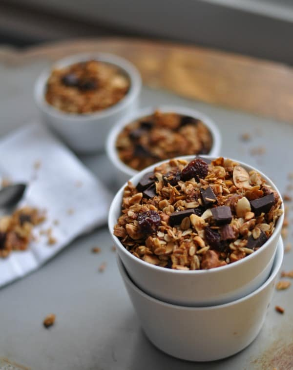 Gluten Free Cherry Chocolate Granola Dining with Alice