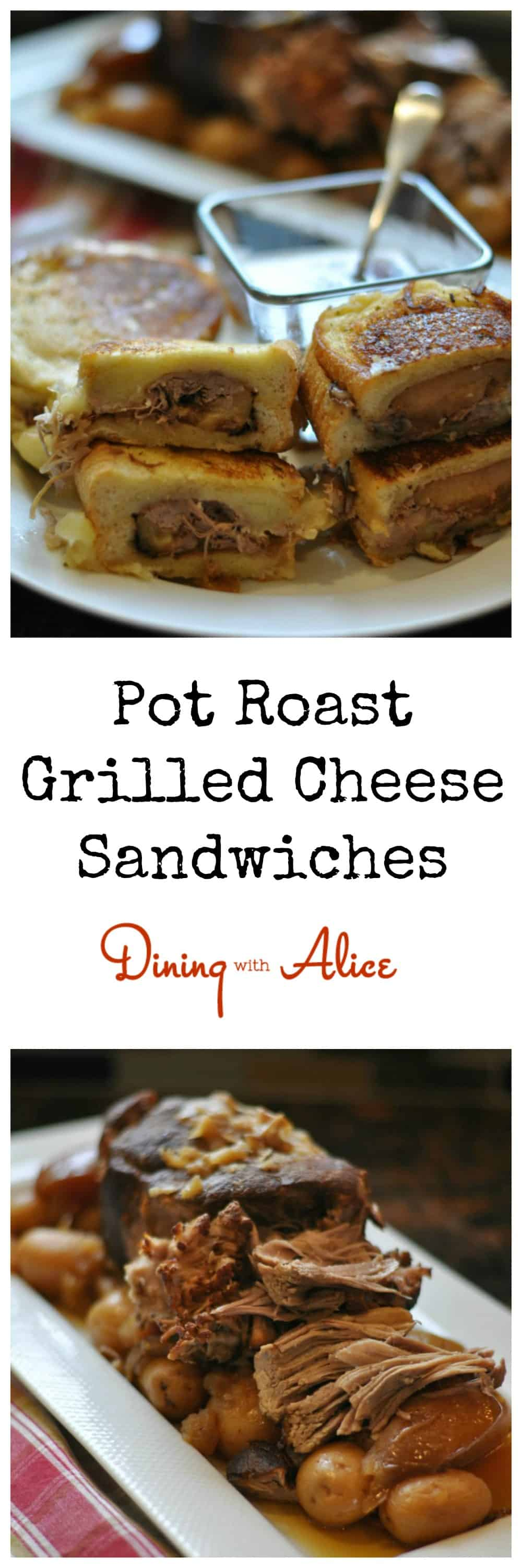 Pot Roast Grilled Cheese Sandwiches Dining With Alice