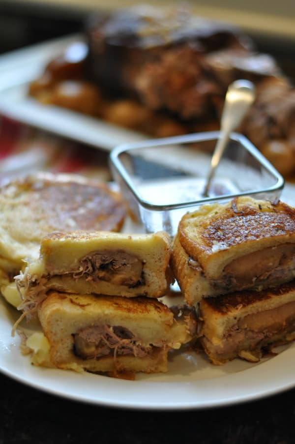 Pot Roast Grilled Cheese Sandwiches - Dining with Alice