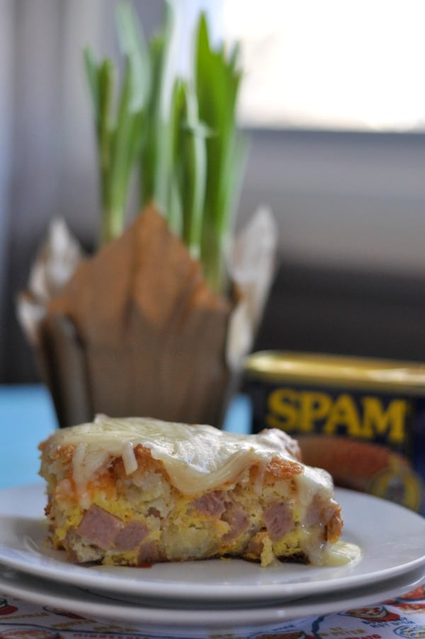 Spam and tater tot egg bake dining with alice tater tot egg bake forumfinder Gallery
