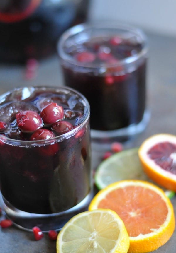 Black Cherry Pomegranate Sangria