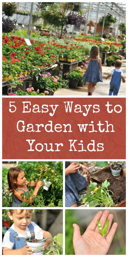 5 Easy Ways to Garden with Your Kids