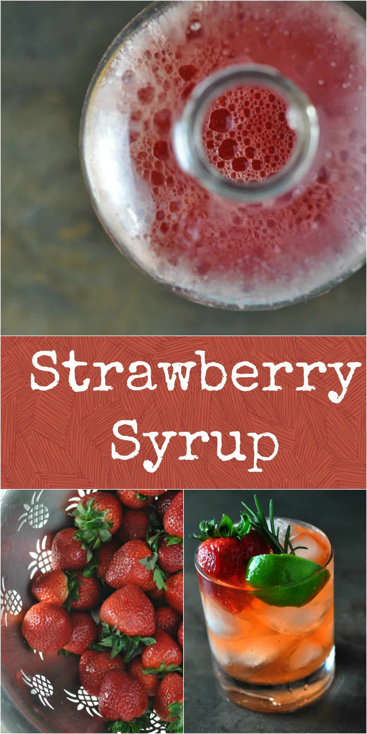 Strawberry Syrup - Dining with Alice