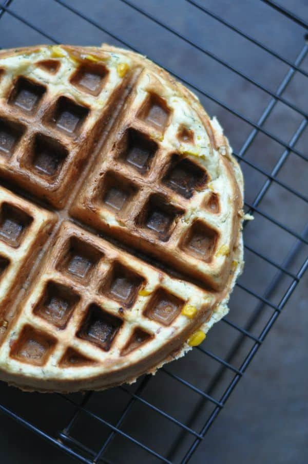 Sweet Corn Waffle