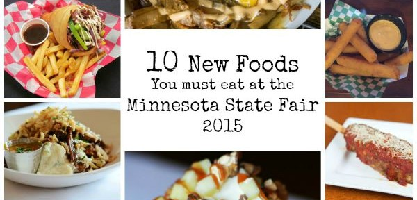 MN State Fair Foods 2015