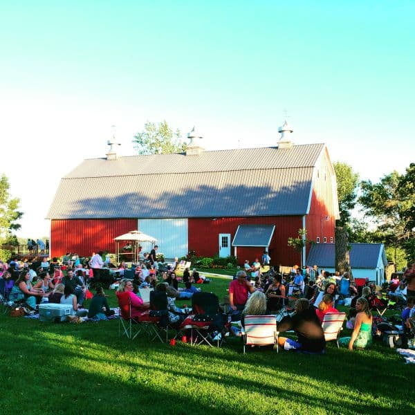 Red Barn Pizza Farm in Minnesota