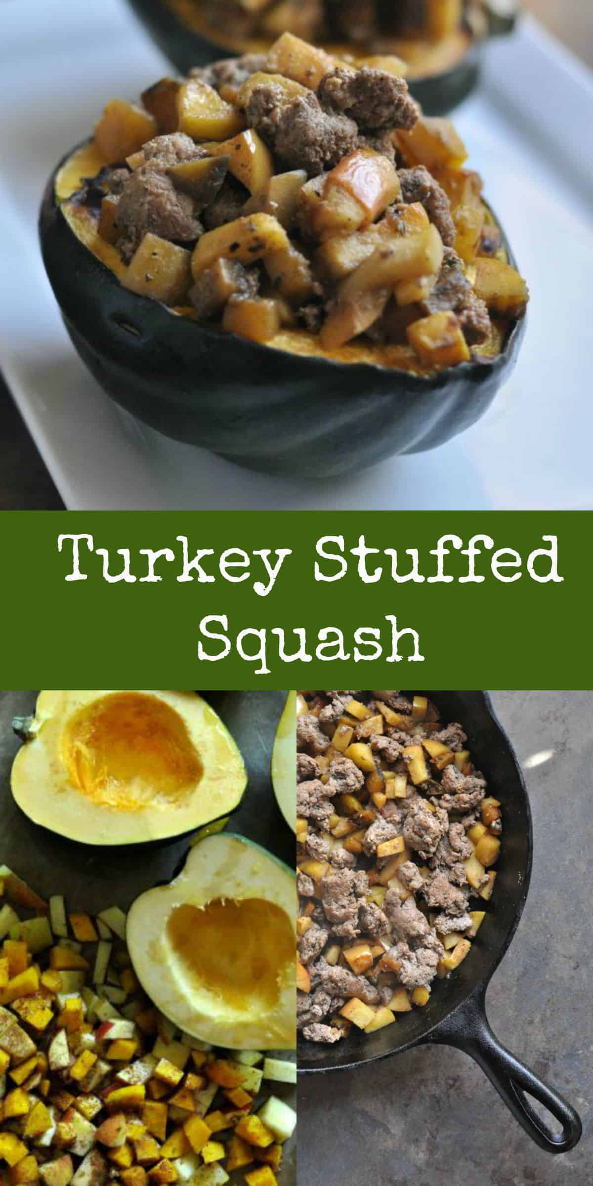 Turkey Stuffed Squash - Dining with Alice