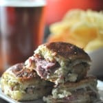 Baked Roast Beef Sandwiches