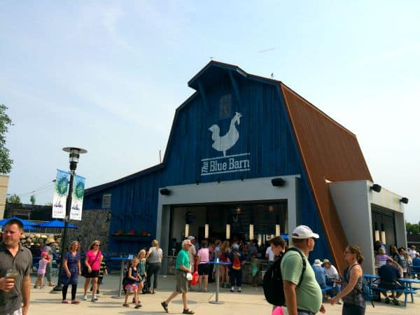 Food and Kids Activities at MN State Fair Blue Barn