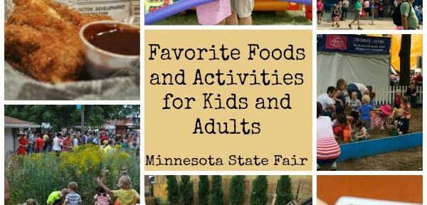 Food and Activities at MN State Fair
