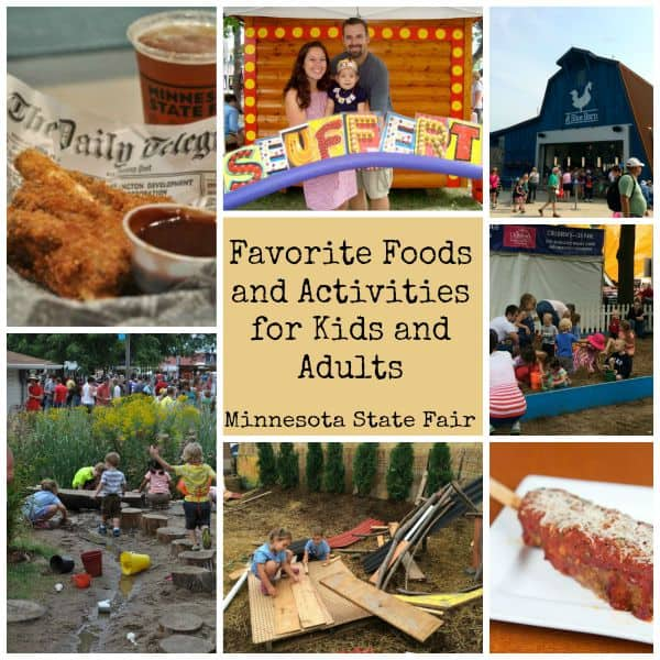 Food and Kids Activities at MN State Fair that are perfect for both kids and adults! #mnstatefair #minnesotastatefair