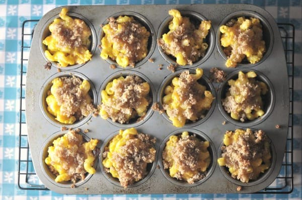 Mac and Cheese Cupcakes Muffin Tin