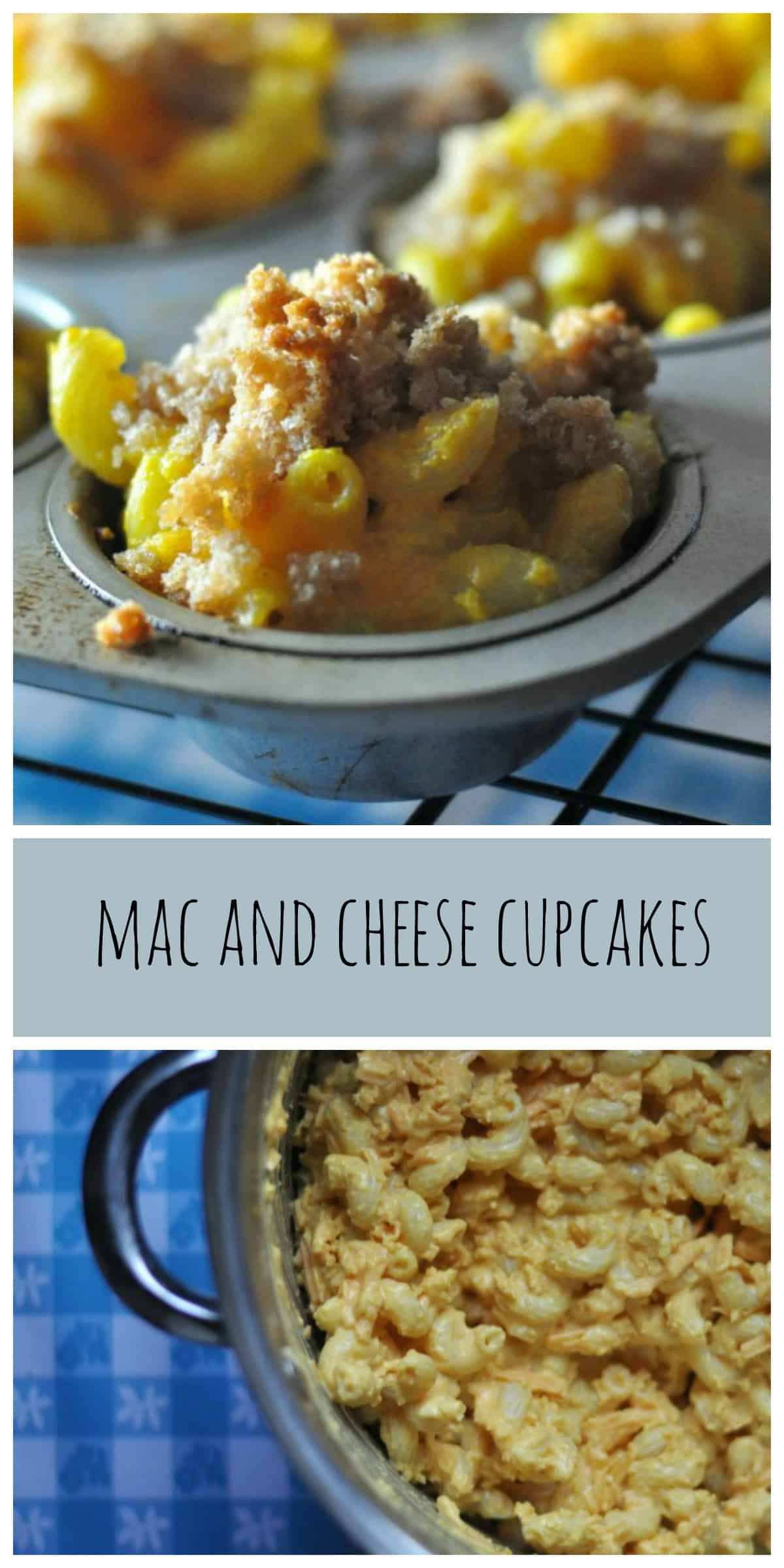 Super easy Mac and Cheese cupcakes baked right in your oven for a simple family meal everyone will love.
