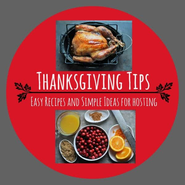Thanksgiving Tips Easy Recipes