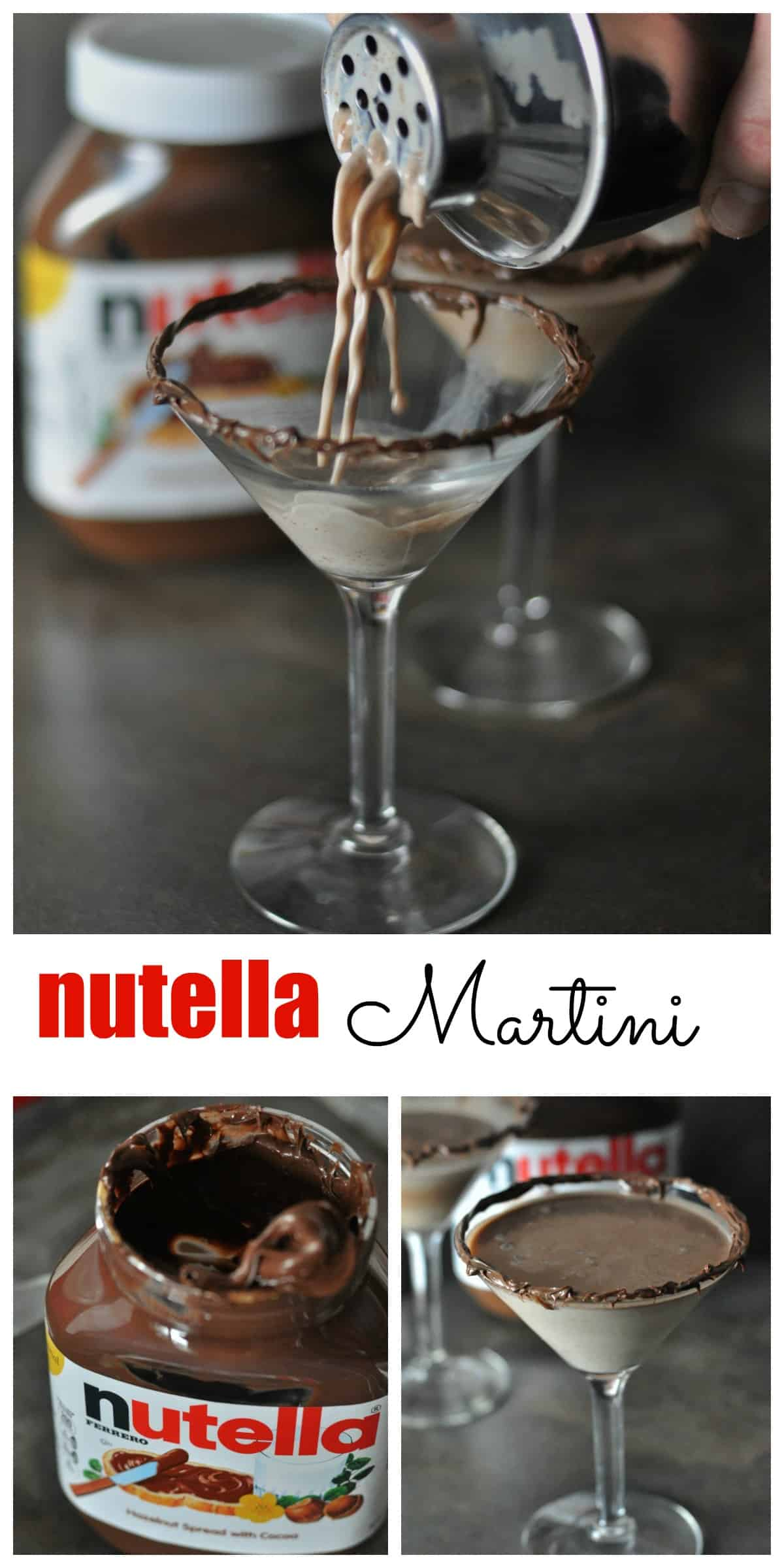 Nutella Martini Dining With Alice