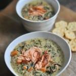 Salmon Wild Rice Soup