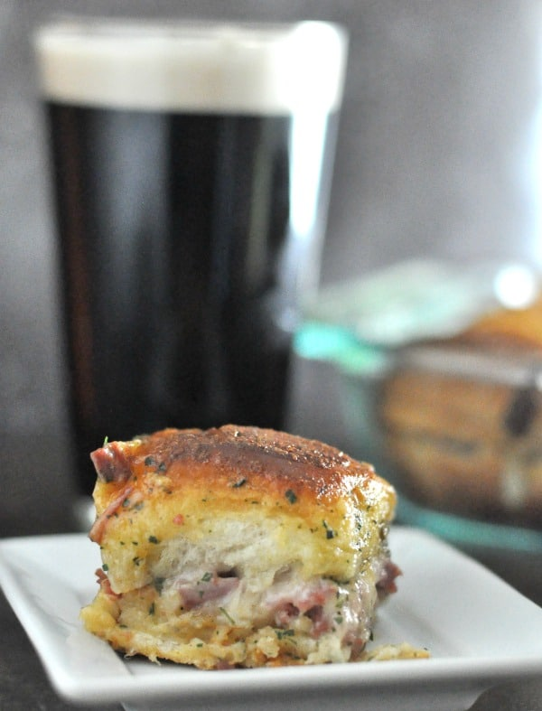 Baked Reuben Sandwiches Classic