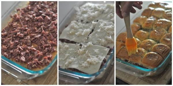 Baked Reuben Sandwiches recipe