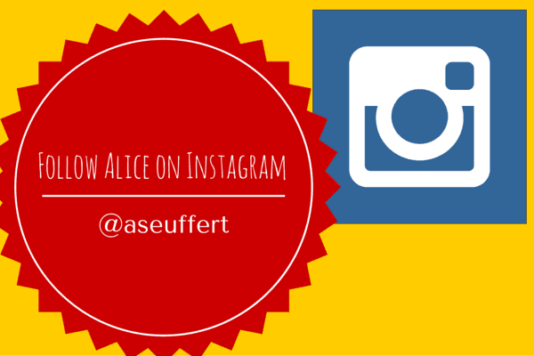 Follow Alice on Instagram