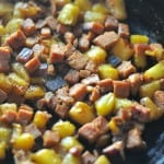 Hawaiian SPAM Skillet Dinner