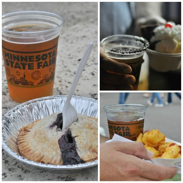Beer at the Minnesota State Fair Food Pairings